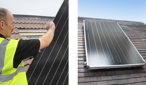 Solar Thermal Panels Brackley